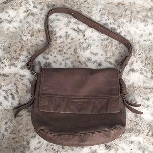 Liebeskind Berlin Taupe Leather Handbag